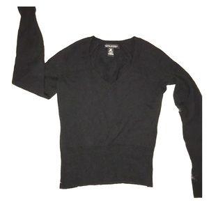 Banana Republic Black sweater  SZ-XS Merino Wool